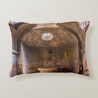 Pillow - Roman Baths - Ancient Pompeii, Italy