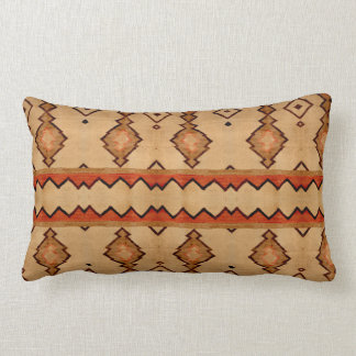 Pillow southwest vintage woven rug design print