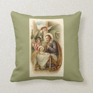 Pillow: St. Joseph Nativity Cushion