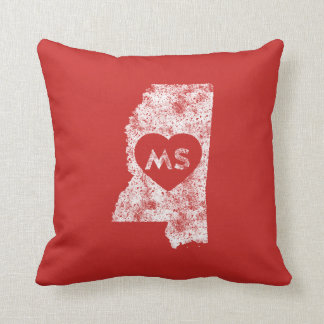 Pillow Used I Love Mississippi State