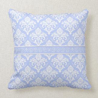 Pillow - Wedgewood Blue Damask