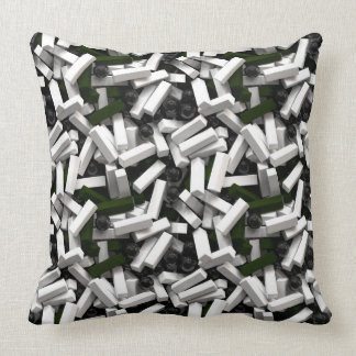Pillow with 3d objects