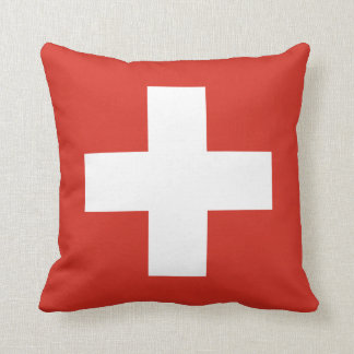 Pillow with flag of Switzerland