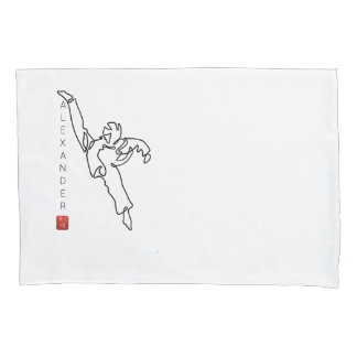 pillowcase TAEKWONDO DWICHAGI back kick