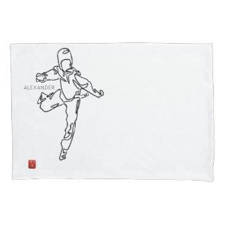 pillowcase TAEKWONDO DWICHAGI back kick 02