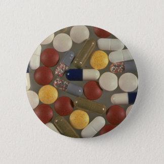 Pills 6 Cm Round Badge