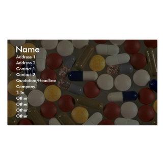 Pills Business Card Template