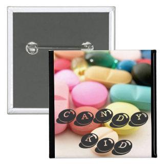 pills CANDY KID Buttons