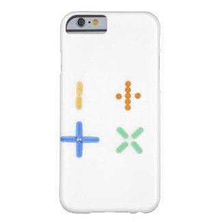 Pills in shape of plus sign, minus, barely there iPhone 6 case