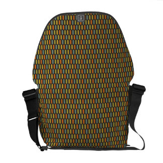 Pills Pattern messenger bag