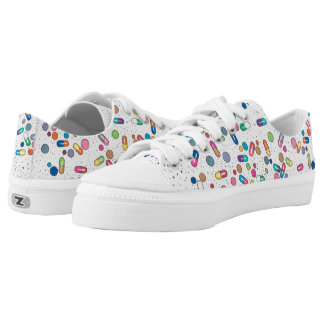 Pills Printed Shoes