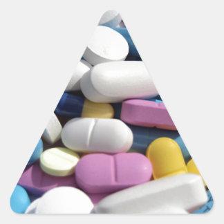 Pills Triangle Sticker