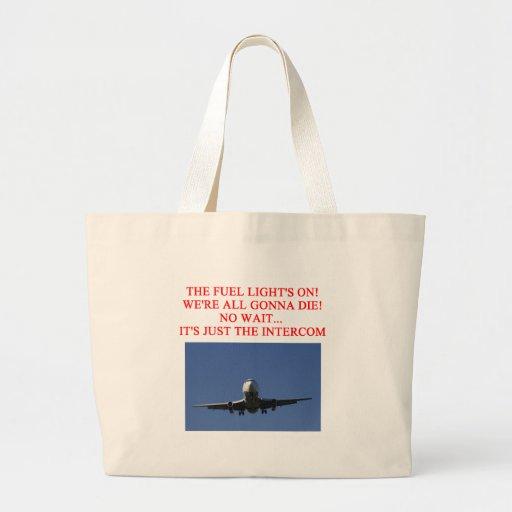 PILOT airline joke Tote Bag