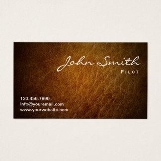Pilot Aviator Professional Business Card