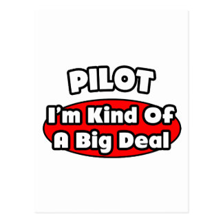 PIlot...Big Deal Post Cards