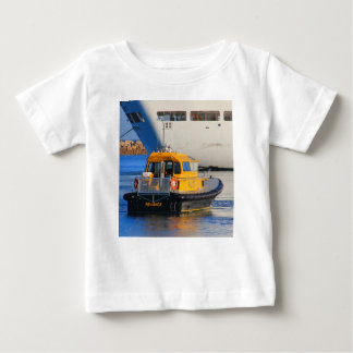Pilot boat and cruise ship baby T-Shirt