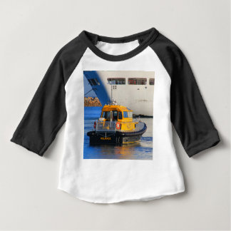 Pilot boat and cruise ship baby T-Shirt