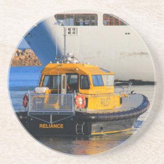 Pilot boat and cruise ship coaster