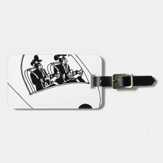 Pilot Cartoon 3683 Luggage Tag