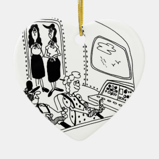 Pilot Cartoon 5139 Ceramic Ornament