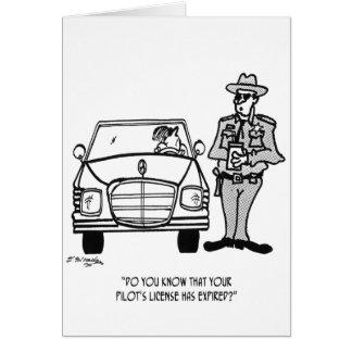 Pilot Cartoon 5214 Card