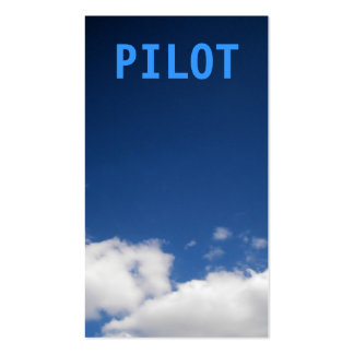 Pilot Clouds Business Card