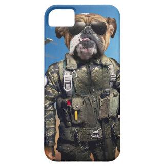 Pilot dog,funny bulldog,bulldog iPhone 5 case