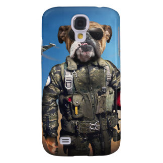 Pilot dog,funny bulldog,bulldog samsung galaxy s4 covers