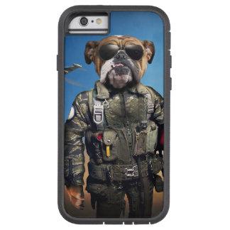 Pilot dog,funny bulldog,bulldog tough xtreme iPhone 6 case