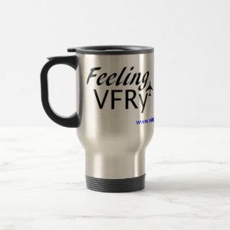 Pilot Expression Travel Mug Feeling VFR or IFR