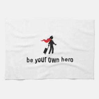 Pilot Hero Tea Towel