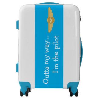 Pilot humor luggage