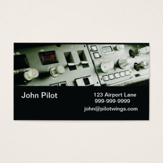 Pilot Instruments Business Cards