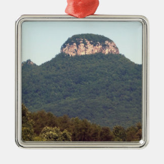 Pilot Mountain - North Carolina Metal Ornament