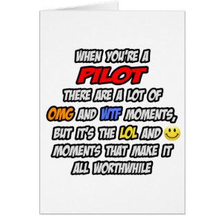 Pilot .. OMG WTF LOL Card