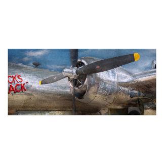 Pilot - Plane - The B-29 Superfortress Rack Card Design