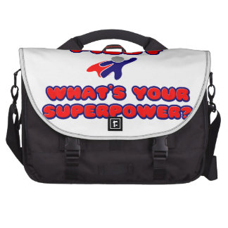 Pilot .. What's Your Superpower? Bags For Laptop