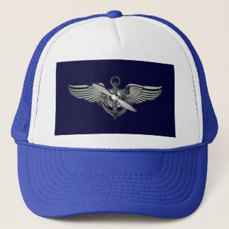 pilot wings trucker hat