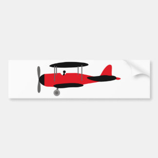 PilotRed2 Bumper Sticker