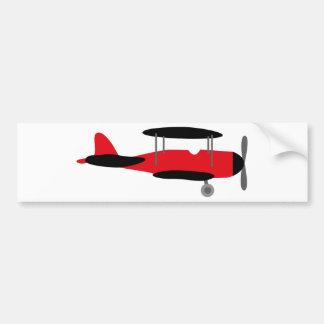 PilotRed3 Bumper Sticker