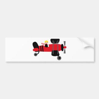 PilotRed4 Bumper Stickers