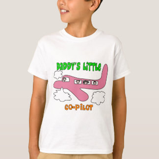 "Pilot's Kids ""Daddy's Little Co-Pilot"" T-shirts"