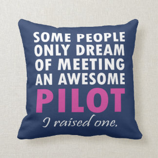 PILOT'S MOM CUSHION