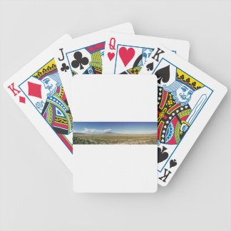Pilot's Peak Panorama 1 Bicycle Playing Cards