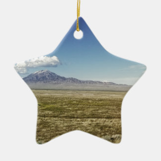 Pilot's Peak Panorama 1 Ceramic Ornament