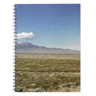 Pilot's Peak Panorama 1 Spiral Notebook