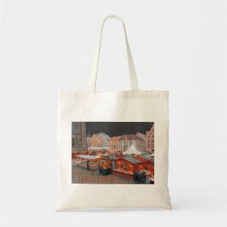 Pilsen - Christmas Market Lights Tote Bag
