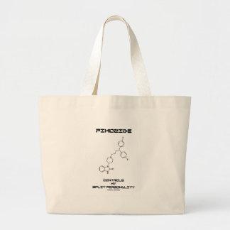 Pimozide Controls My Split Personality Tote Bag