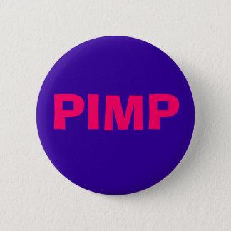 PIMP 6 CM ROUND BADGE
