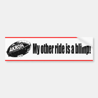 Pimp my Blimp Bumper Sticker